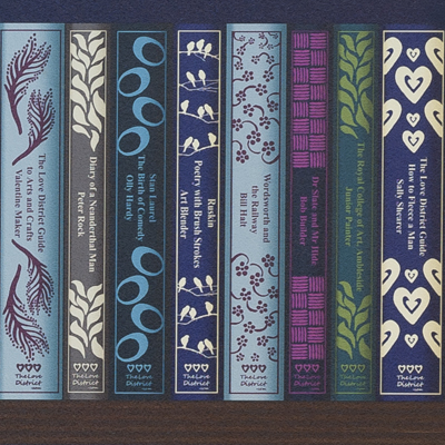 Books Wallpaper the love district | lakeland books wallpaper | lake district