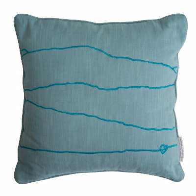 Weatherlam & Wrynose Pass Cushion blue