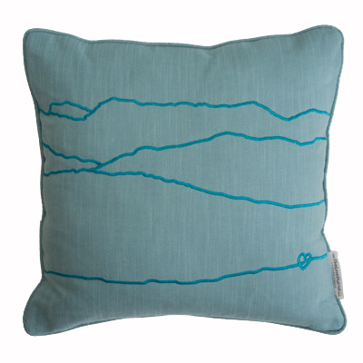 Scafell Pike & Bowfell Cushion