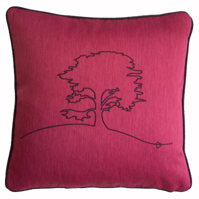 Red Cedar Tree Cushion Cover