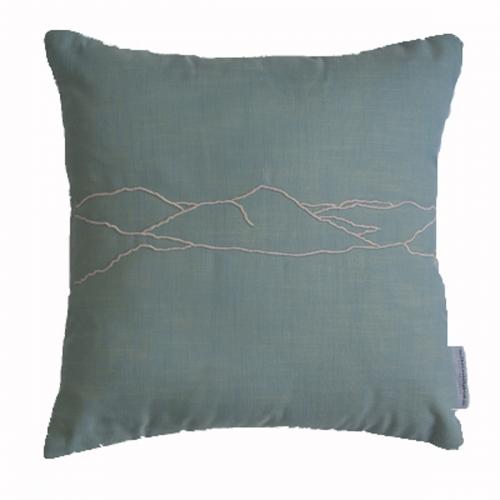 haystacks lake district inspired cushion