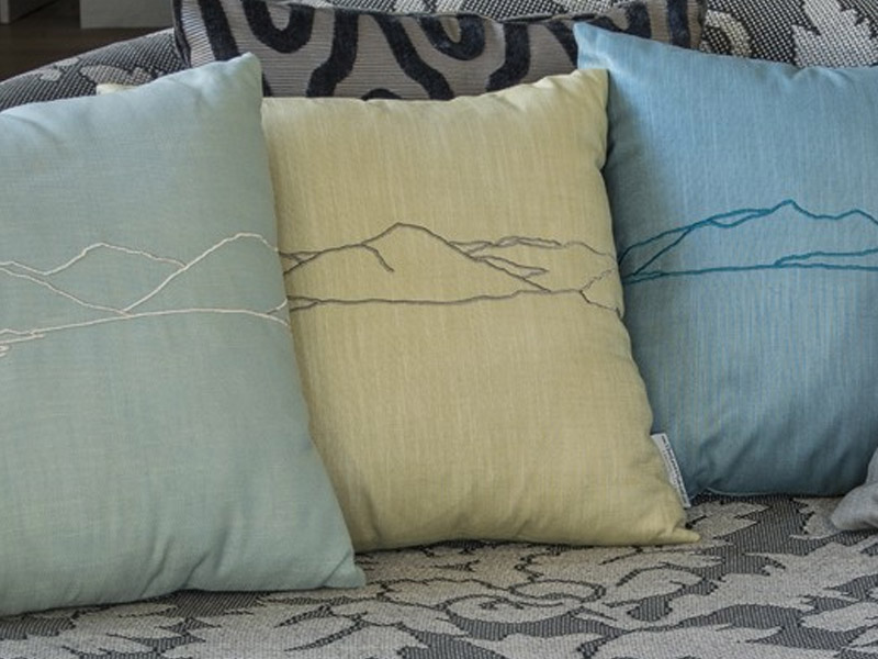 Lakeland inspired decor cushions Cumbria